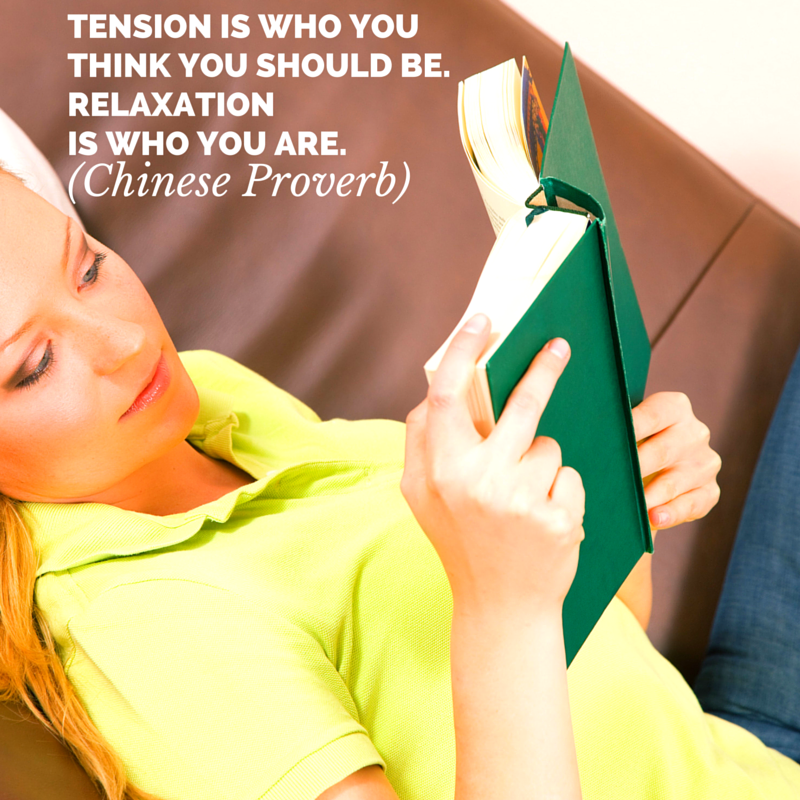 Relaxation is who you are
